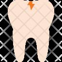 Broken Teeth Tooth Icon