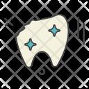 Broken Tooth Teeth Icon