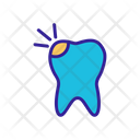 Broken Tooth Icon
