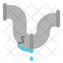 Broken Water Pipe Icon