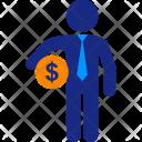 Dollar Business Money Icon