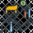 Broker Businessman Finanancer Icon