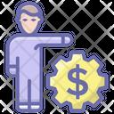 Broker Investor Financial Manager Icon