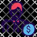 Broker Financier Capitalist Icon