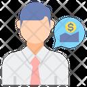 Broker Avatar Agent Icon