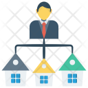 Network House Home Icon