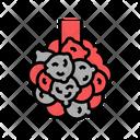 Bronchiectasis Lungs Disease Icon