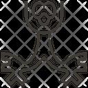 Bronchus Medical Healthcare Icon