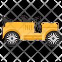 Vintage Car Transport Vehicle Icon