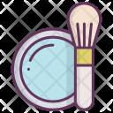 Bronzator Brush Cheeks Icon
