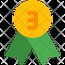 Bronze Badge Badge Award Icon