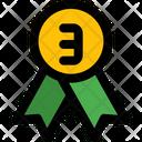 Bronze Badge Icon