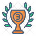 Bronze Cup Icon