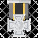 Bronze Medal Silver Medal Award Icon