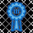 Bronze Medal Award Trophy Icon