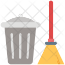 Broom Besom Mop Icon