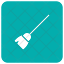 Broom Mop Witch Icon