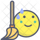 Broom Brooming Clean Icon