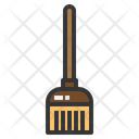 Broom Brush Cleaning Equipment Icon
