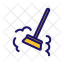 Broom Besom Dust Icon