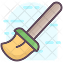 Broom Cleaning Tool Broomstick Icon