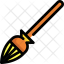 Broom Cleaning Magic Icon
