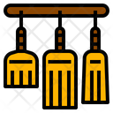 Broom Clean Whisk Icon