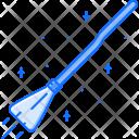Flying Broom Magic Icon