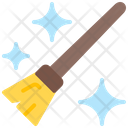 Broom Cleaner Tools And Utensil Icon