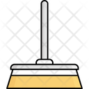 Brush Cleaning Mop Icon