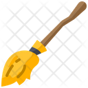 Broom Magic Broom Witch Icon