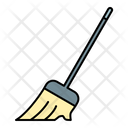 Broom Sweeping Cleaning Icon