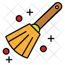 Broom Witch Scary Icon