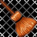 Broom Broom Stick Fly Icon