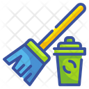 Cleaning Brrom Broom Clean Icon