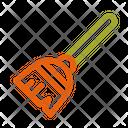 Autumn Broom Clean Icon