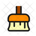 Broomstick Brush Floor Icon