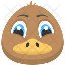 Brown Duck Icon