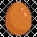 Brown Egg Egg Eggs Icon