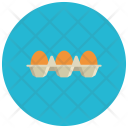 Brown eggs Icon