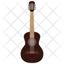 Brown Guitar Icon