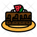 Brownie Pastry Dessert Icon