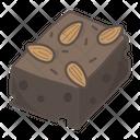 Brownie Chocolate Cocoa Icon