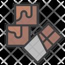 Brownie White Chocolate Icon