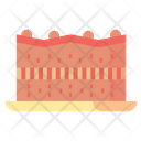 Brownies Cake Desserts Icon