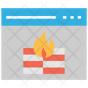 Firewall Browse Internet Security Icon