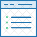 Browse List Bulletpoint Icon
