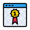 Webpage Browse Badge Icon