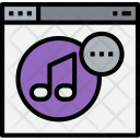 Browser Music Dot Icon