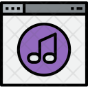 Browser Music Web Icon